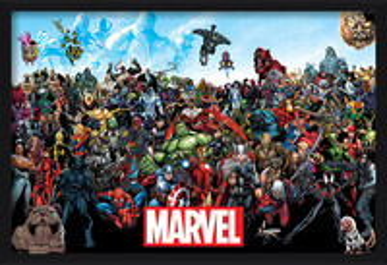 Marvel - Universe Indrammet plakat