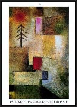P.Klee - Piccolo Quadro Di Pino Indrammet plakat