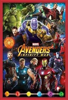 Avengers: Infinity War – Characters Indrammet plakat