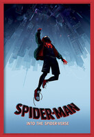 Spider-Man: Into The Spider-Verse – Fall Indrammet plakat