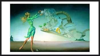 Salvador Dalí – Mirage Indrammet plakat