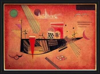 Wassily Kandinsky - Whimsical Indrammet plakat