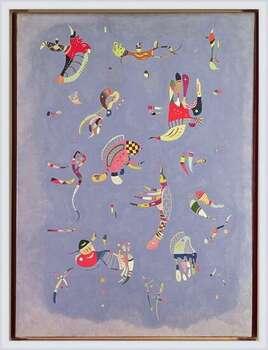 Wassily Kandinsky - Sky Blue Indrammet plakat