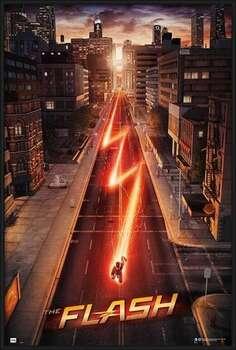 Indrammet plakat The Flash - One Sheet