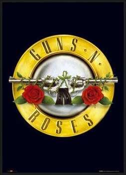 Indrammet plakat Guns'n'Roses - logo