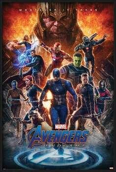Indrammet plakat Avengers: Endgame - Whatever It Takes