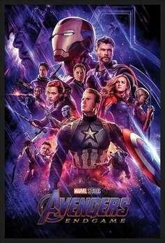 Indrammet plakat Avengers: Endgame - Journey's End