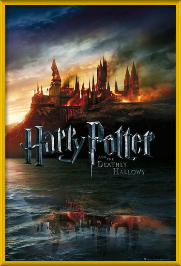 HARRY POTTER 7 - teaser Plakat