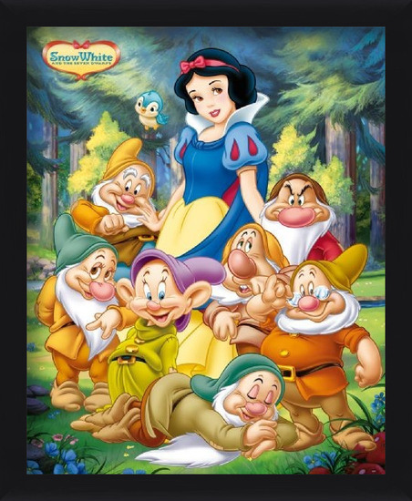 SNOW WHITE - and the seven dwarfs Plakat