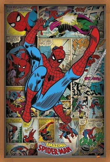 MARVEL COMICS - spider man ret Plakat