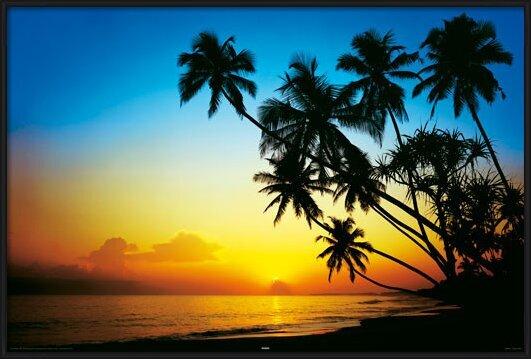 Beach - Dusk Plakat