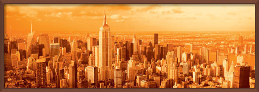 Manhattan - vanilla sky Plakat