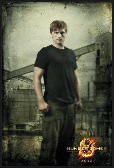 HUNGER GAMES - peeta in district Plakat