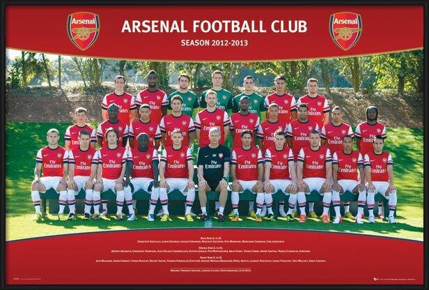 Arsenal - Team photo 12/13 Plakat