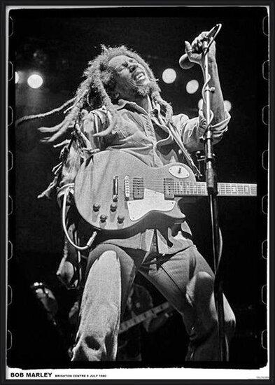Bob Marley - brighton leisure Plakat