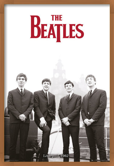The Beatles - Liverpool 1964 Plakat