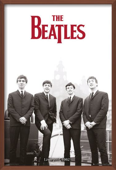 The Beatles - Liverpool 1964 Plakat