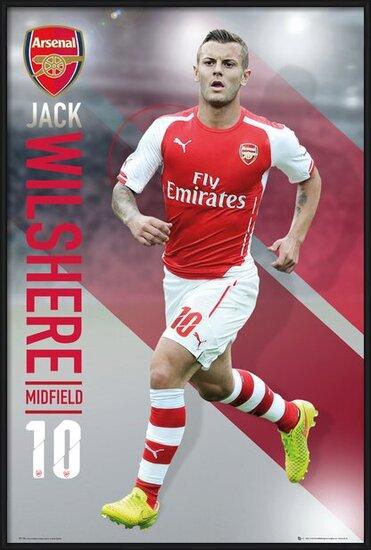 Arsenal FC - Wilshere 14/15 Plakat