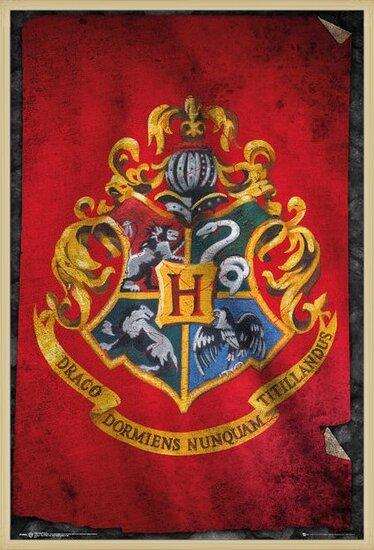 Harry Potter - Hogwarts Crest Plakat