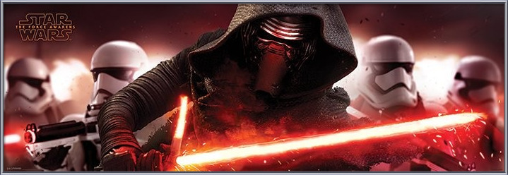 Star Wars Episode VII: The Force Awakens - Kylo Ren & Stormtroopers Plakat