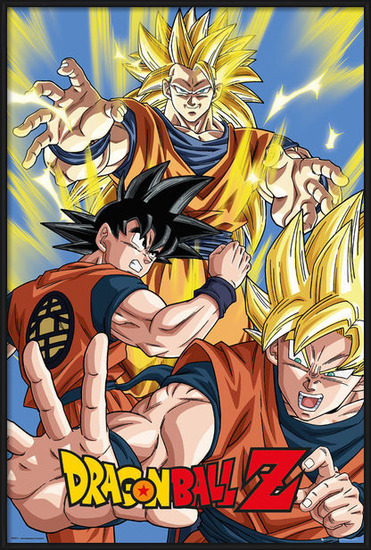 Dragon Ball Z - Goku Plakat