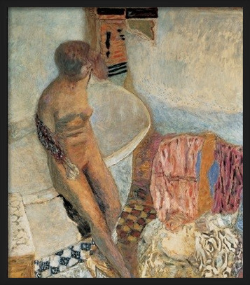 Nude by the Bath Tub, 1931 - Pierre Bonnard Kunsttryk