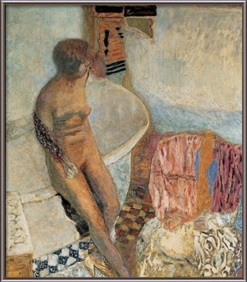 Nude by the Bath Tub, 1931 - Pierre Bonnard Kunsttryk