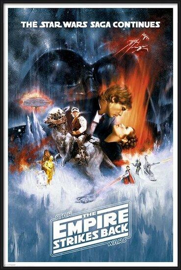 Star Wars Episode V: Imperiet slår igen - One sheet Plakat