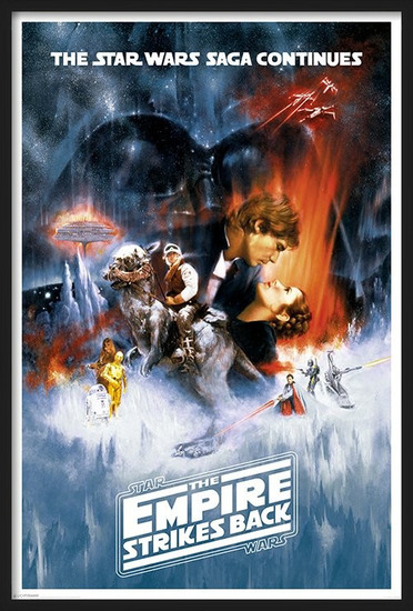 Star Wars Episode V: Imperiet slår igen - One sheet Plakat