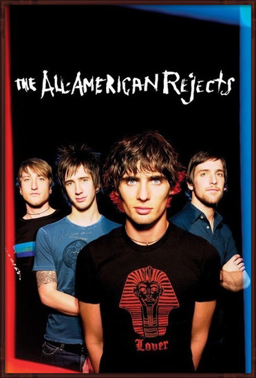 All American rejects - group Plakat