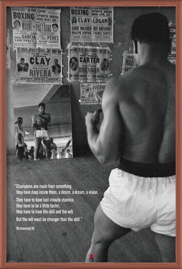 Muhammad Ali - gym Plakat
