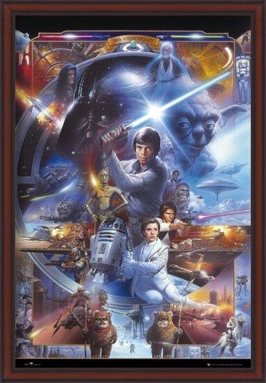 STAR WARS - 30th anniversary Plakat