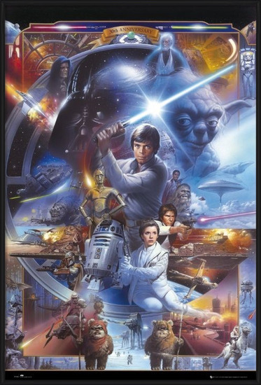 STAR WARS - 30th anniversary Plakat