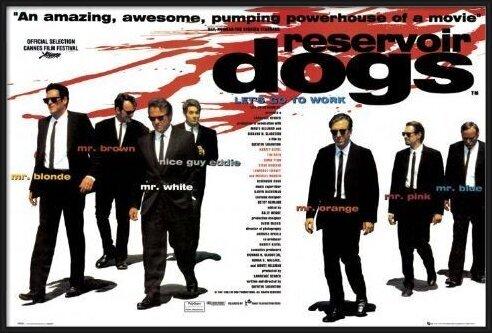 RESERVOIR DOGS - quad Plakat