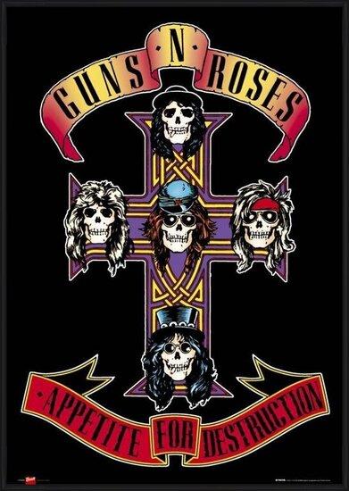 Guns'n'Roses - appetite Plakat
